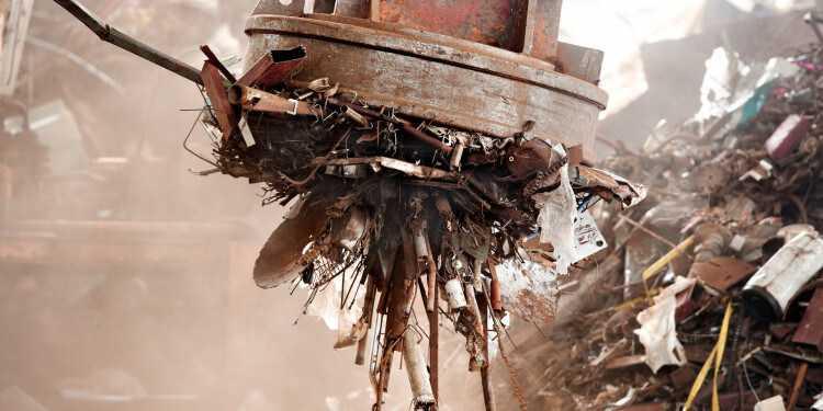 электромагнит для лома черных металлов