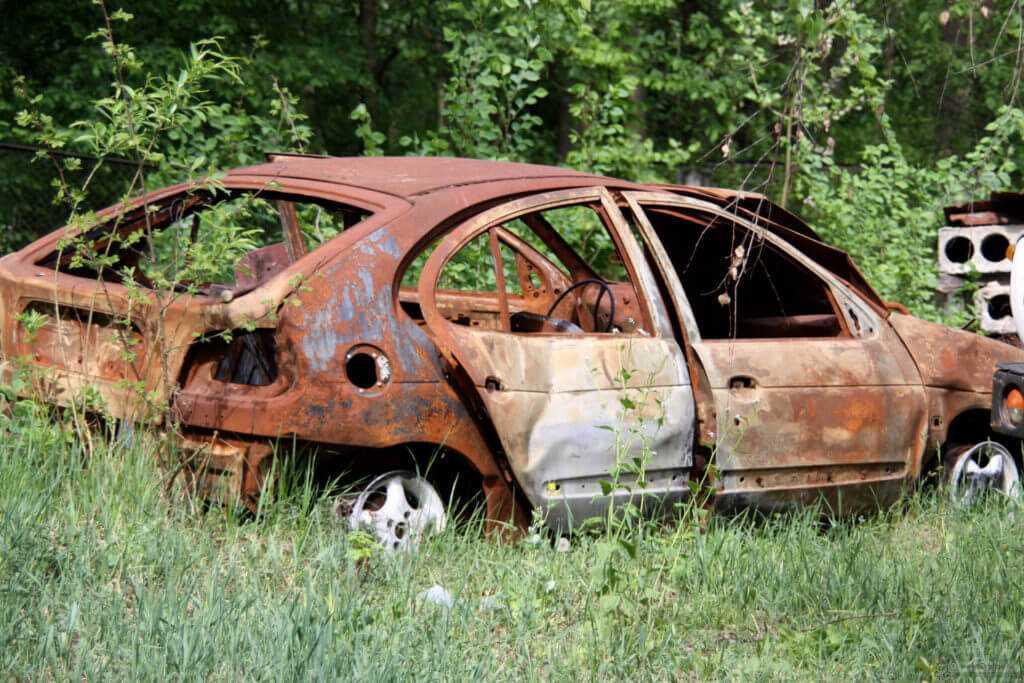 кузов автомобиля - это металлолом 12А