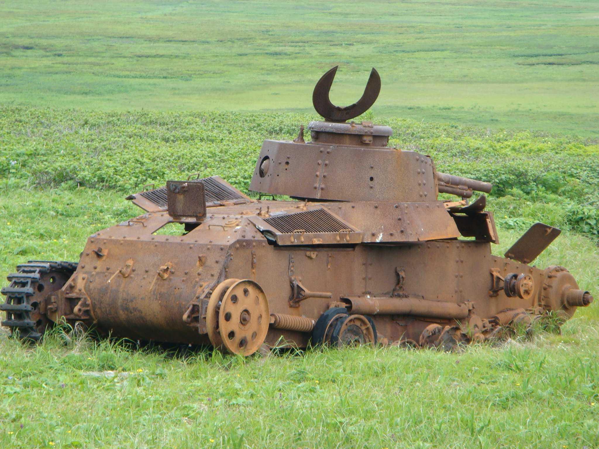 ржавый танк