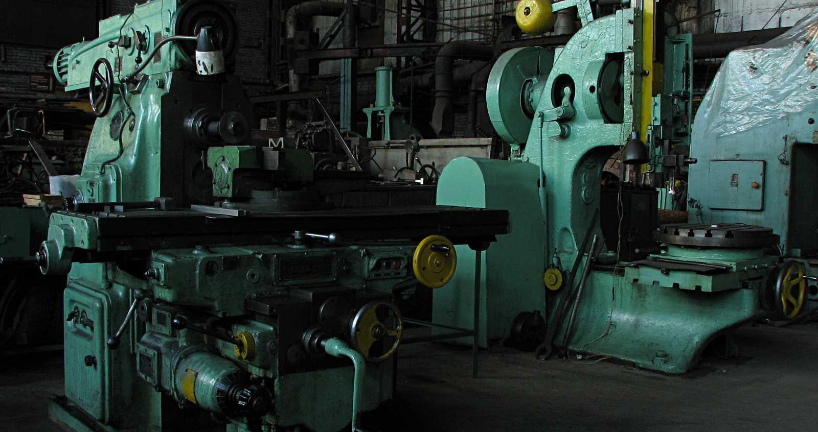 Станки, вышедшие из строя и списанные - на предприятии будут причислены к амортизационному металлолому