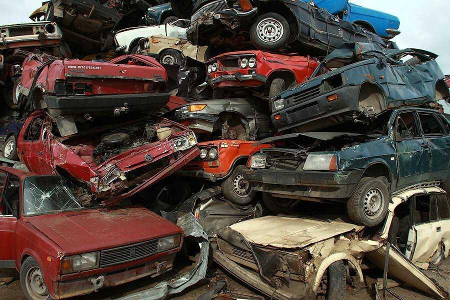 Автомобили в утиль - категория лома 12АН