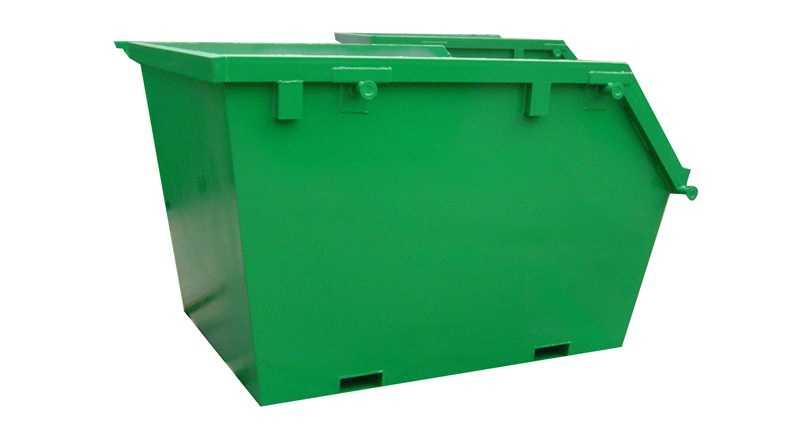 Еще одна версия облегченного контейнера для металлолома