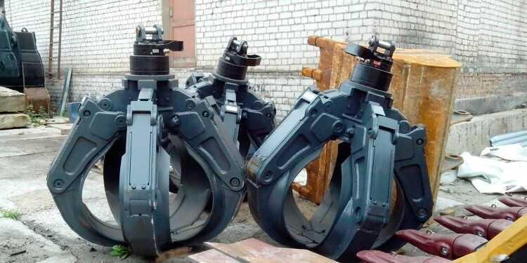 грейферы для металлолома