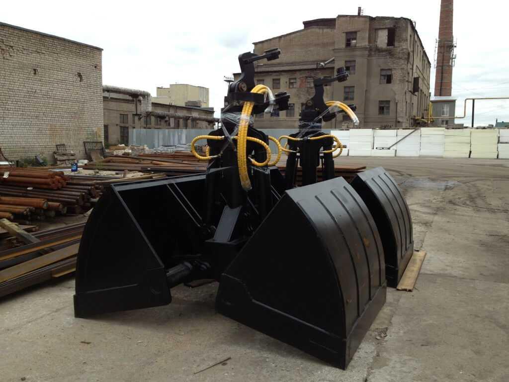 Двухчелюстной грейфер - для сыпучих материалов