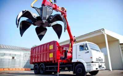 машина для вывоза металлолома