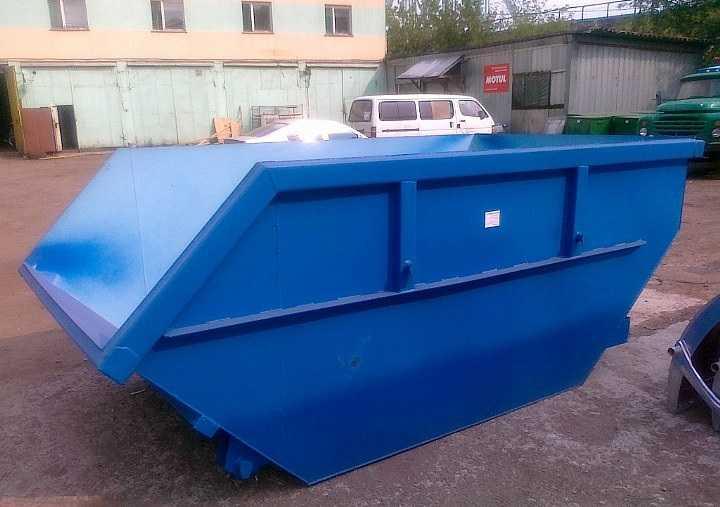 облегченный контейнер для металлолома