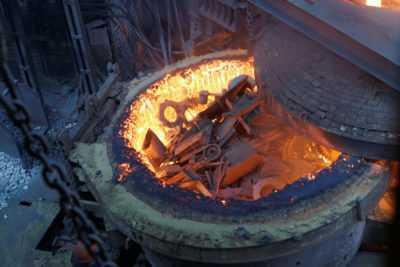 печь для металлолома