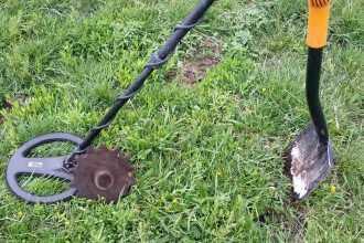 поиск металлолома металлоискателем