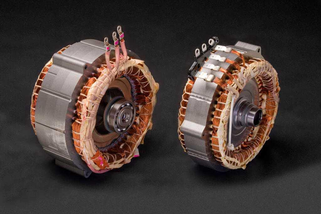 Медь в электродвигателе