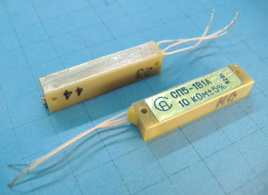 Резисторы СП5