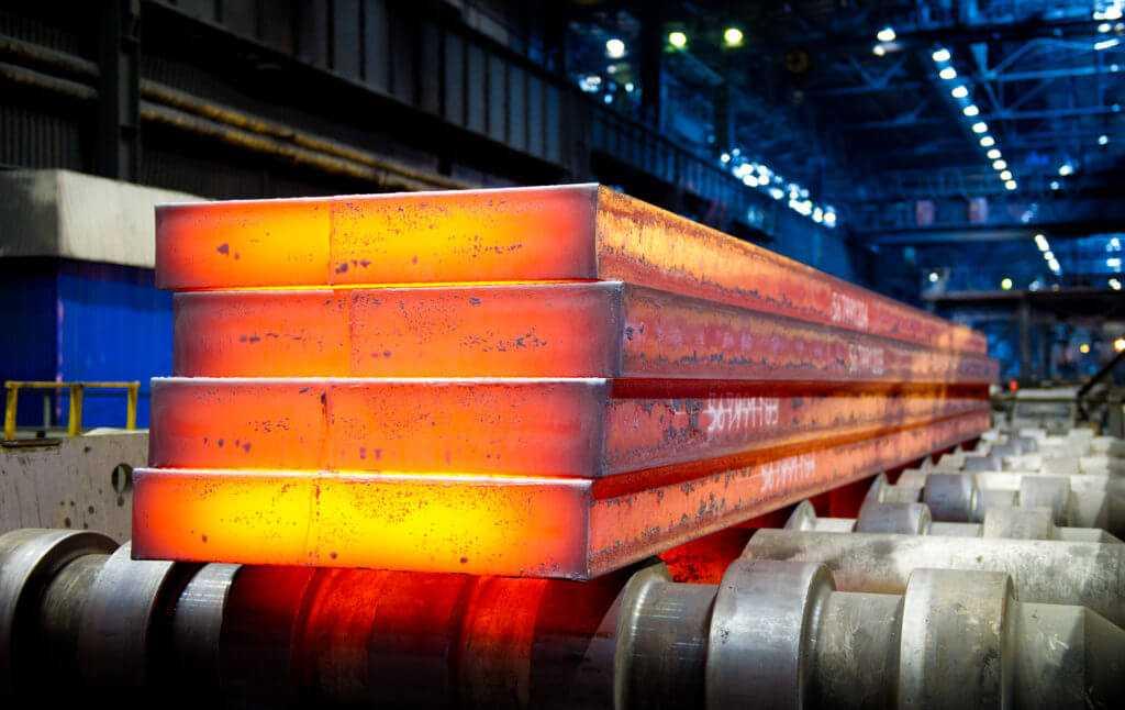 горячая стальная заготовка - сляб