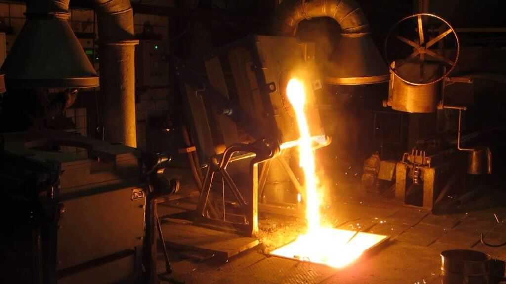 индукционная плавка стали