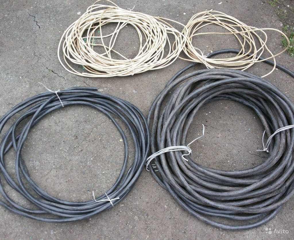 кабель на лом