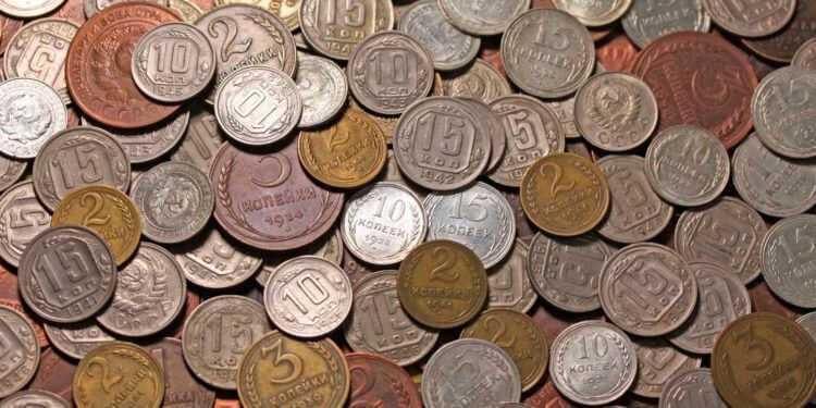 лом монет