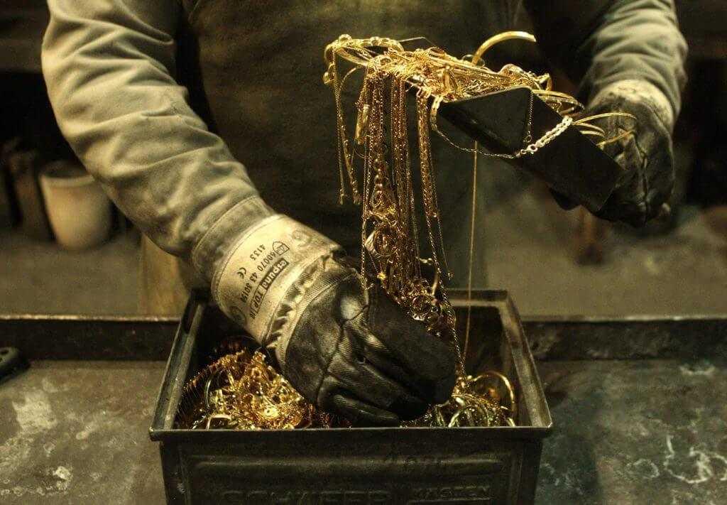 лом ювелирного золота