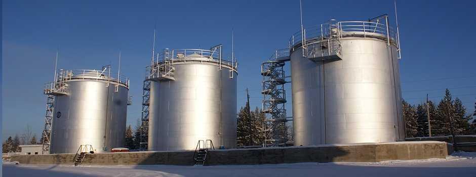 РВС- резервуары хранения ГСМ, после их демонтажа образуется большое количество делового листа
