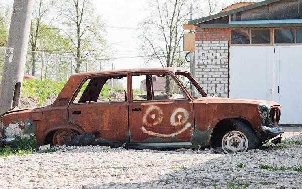 Нужно понимать, что такое авто, как на фото не пройдет по программе, т.к. это просто кусок металлолома