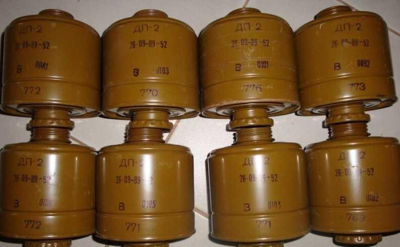 Фильтры противогазов. Не каждый такой фильтр содержит ценные материалы. Нужно изначально знать состав.