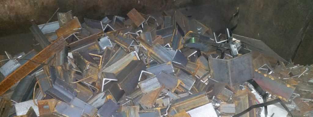 Обрехки уголка - металлолом, хранится в специальном контейнере