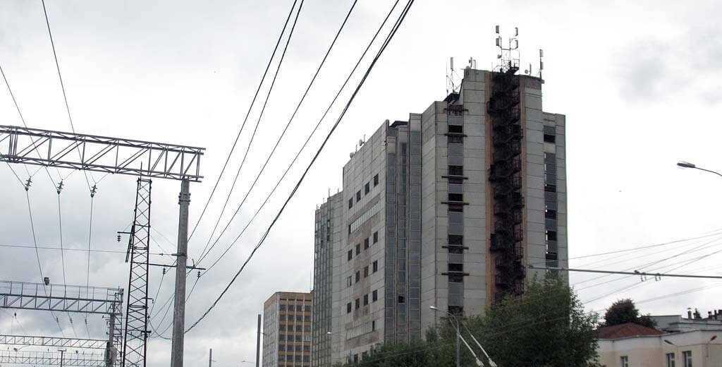 Здание завода Гиредмет
