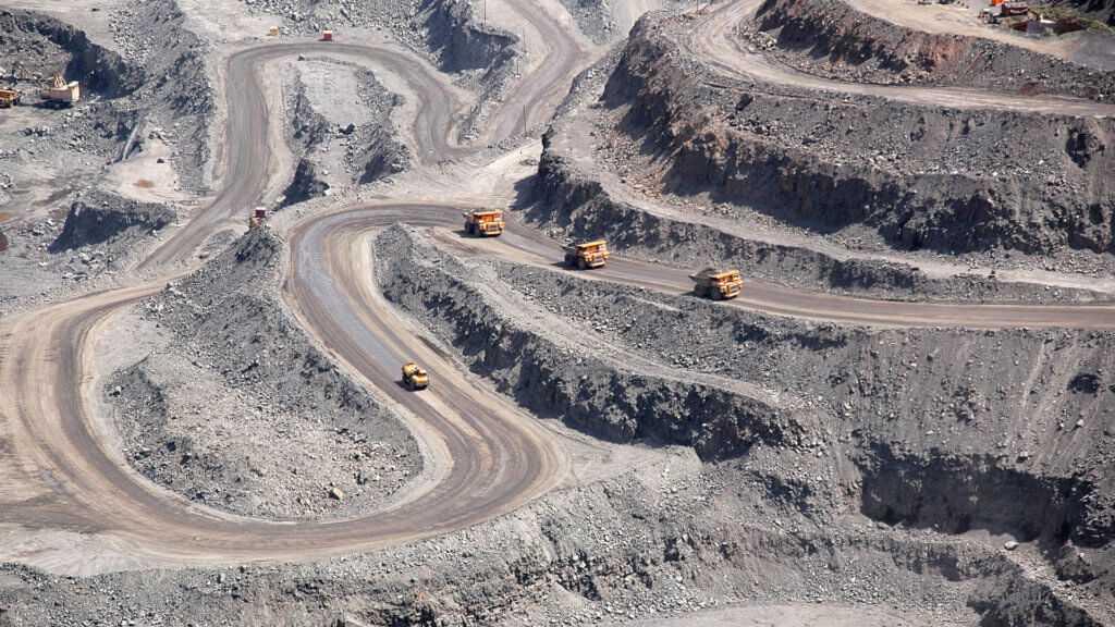 Рудник под Жезказганом