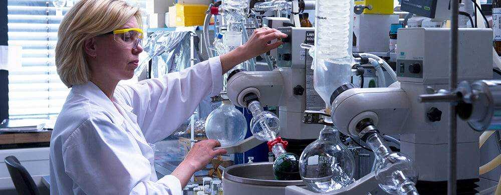органический синтез в лаборатории