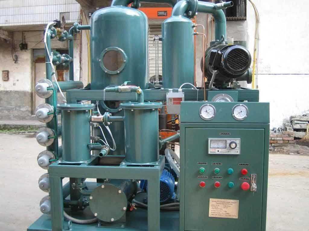 установка для очистки трансформаторного масла