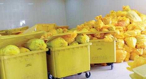 хранение отходов класса б