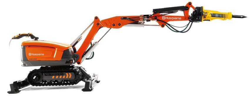 демонтажный робот