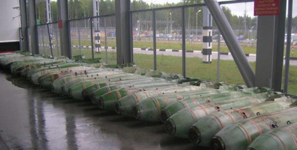 запасы химического оружия на объекте Марадыковский