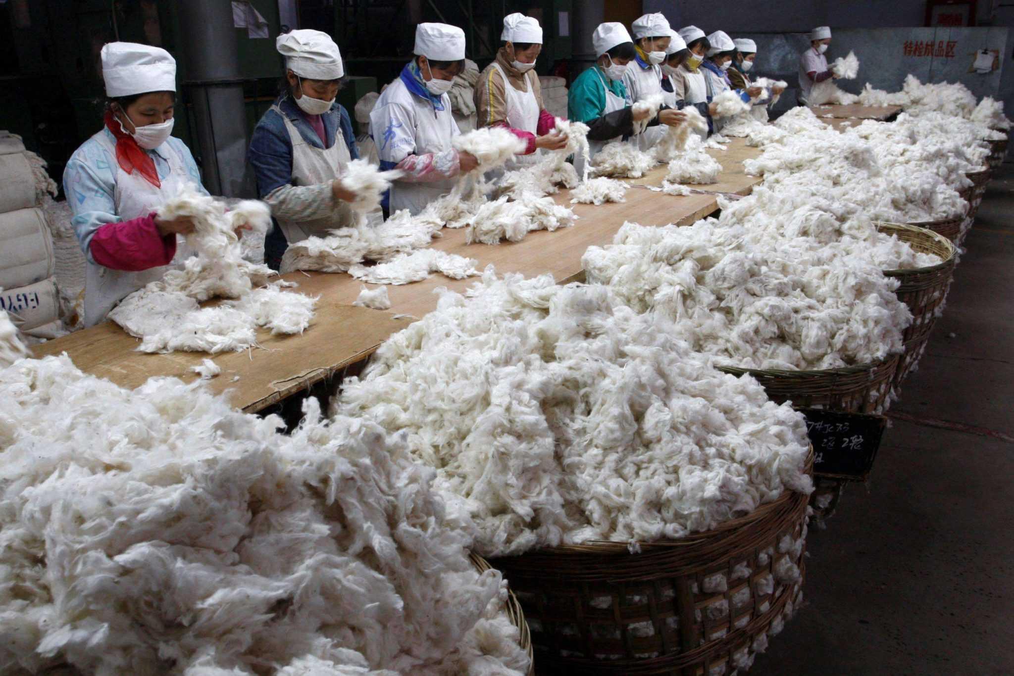 переработка одежды в Китае