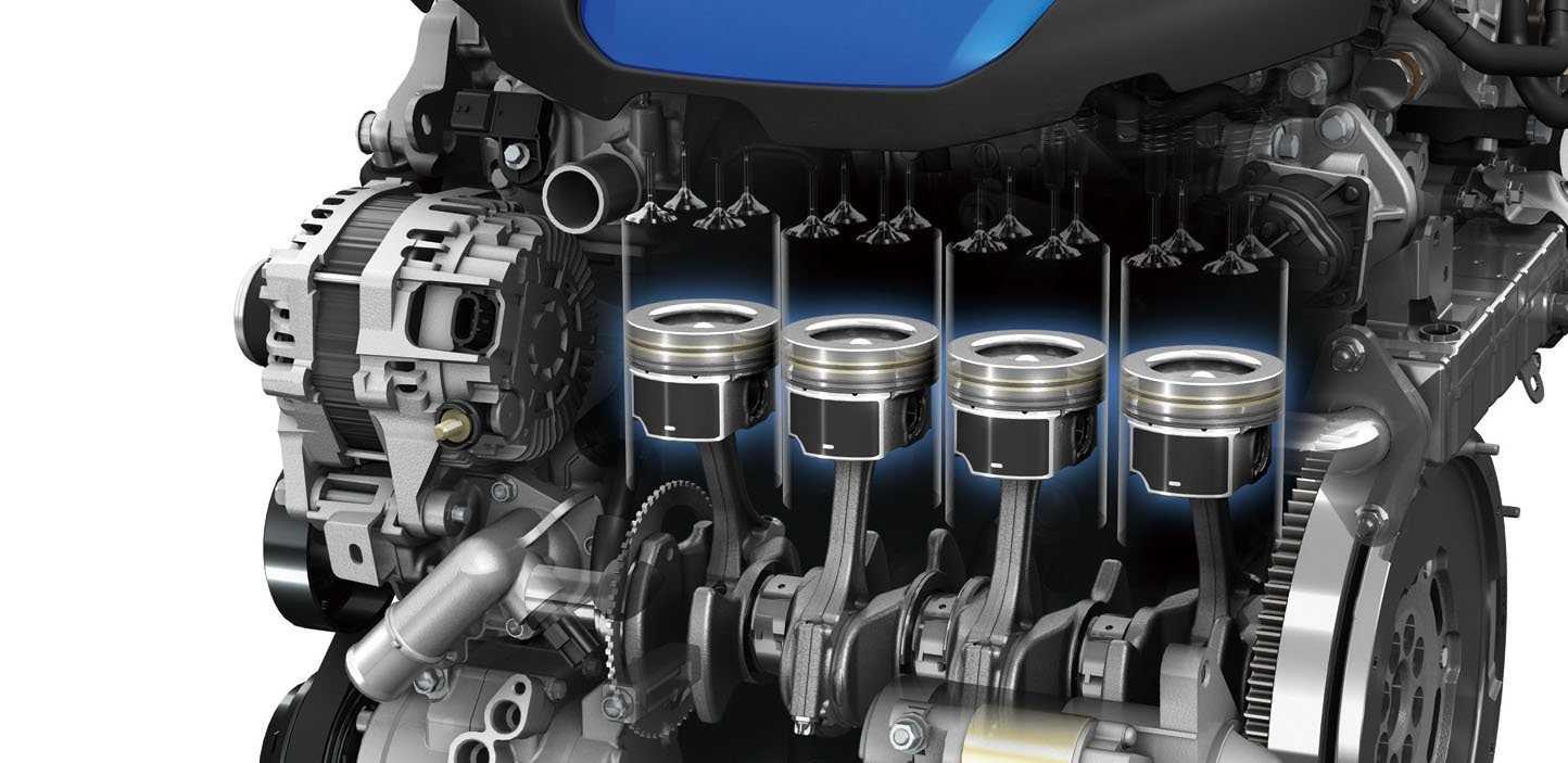 цилиндры дизельного мотора