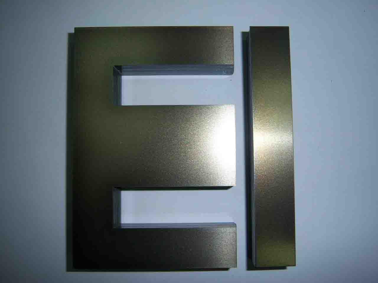 Металлическая буква Е