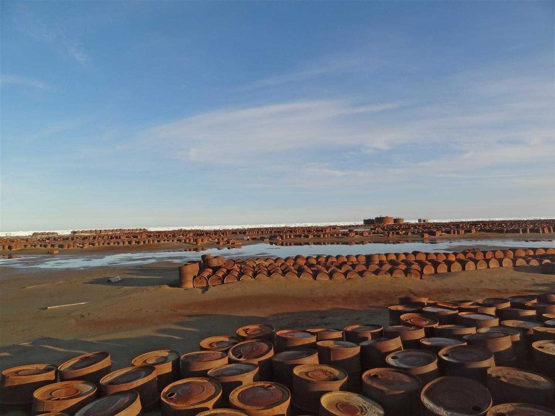 металлолом на острове Греэм-Белл