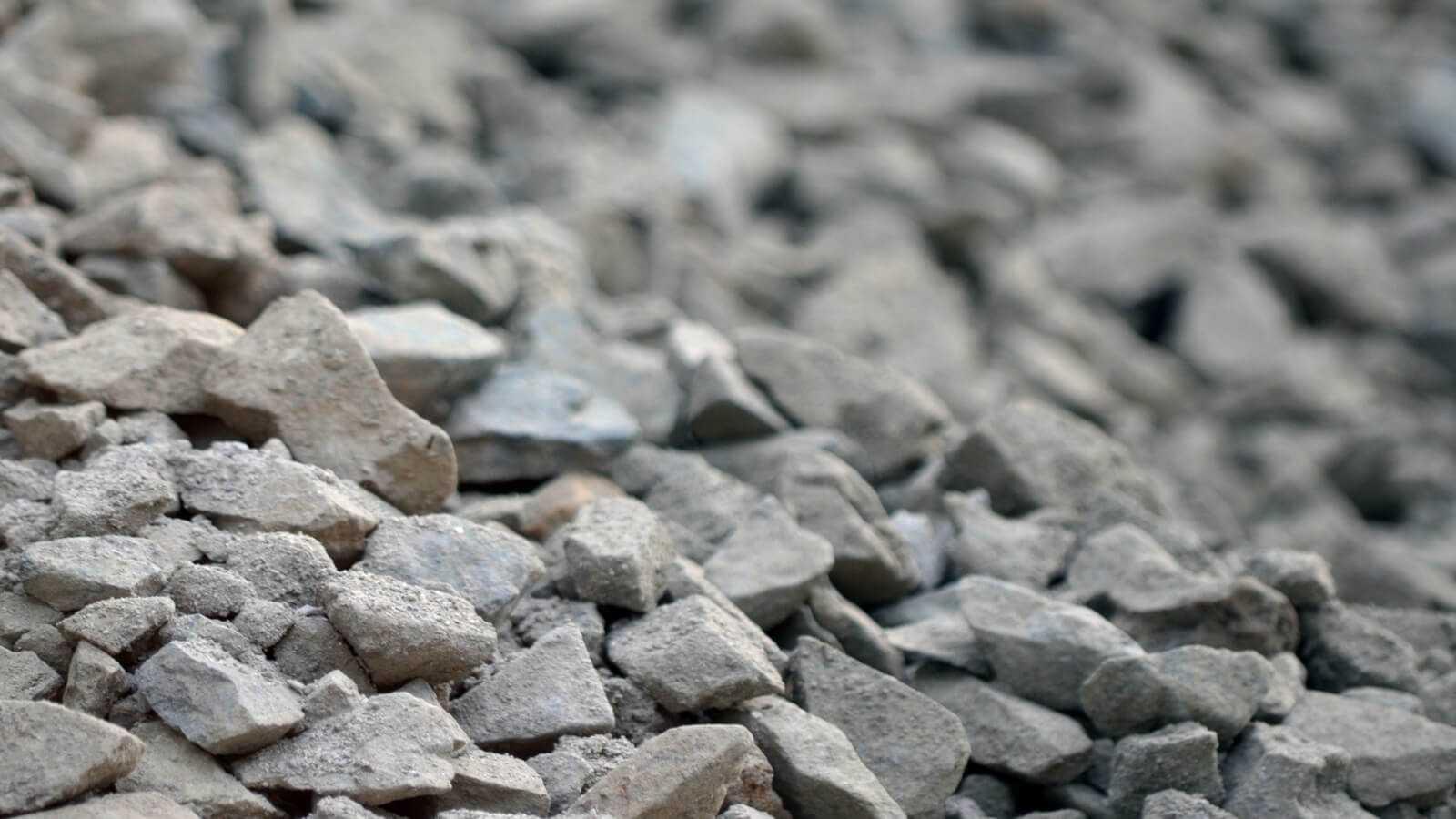 щебень из отходов металлургии