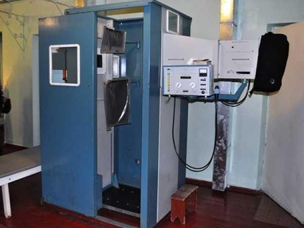 старый рентгеновский аппарат