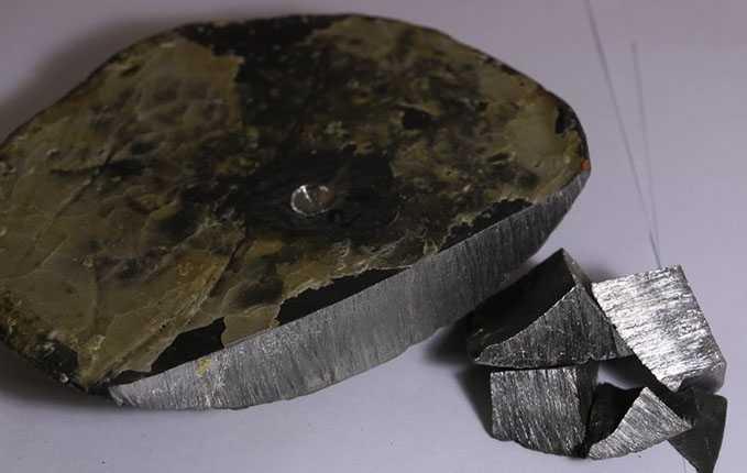 Так выглядит металлический иттрий