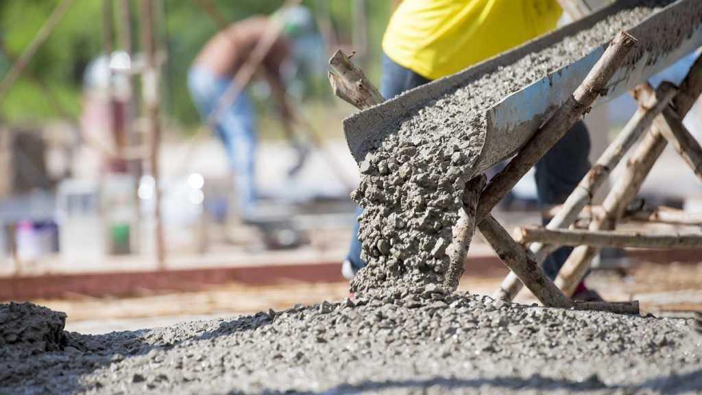 бетон с дихроматом