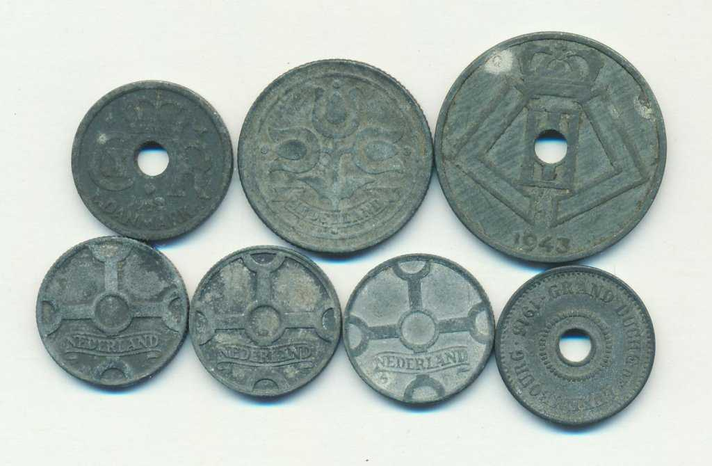 монеты из цинка
