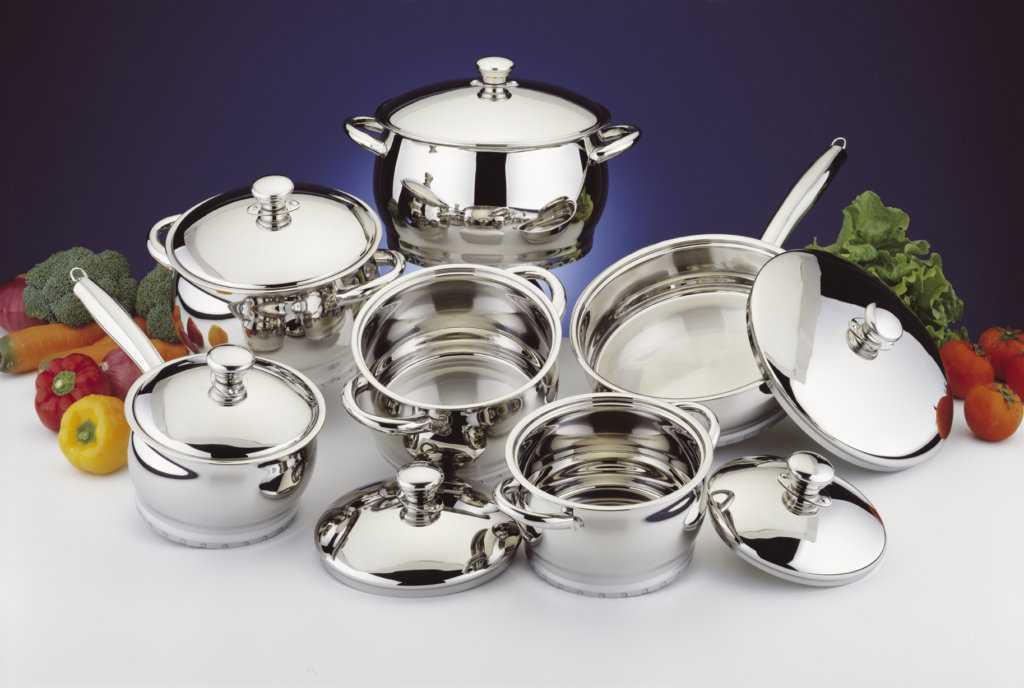 Никелированная посуда