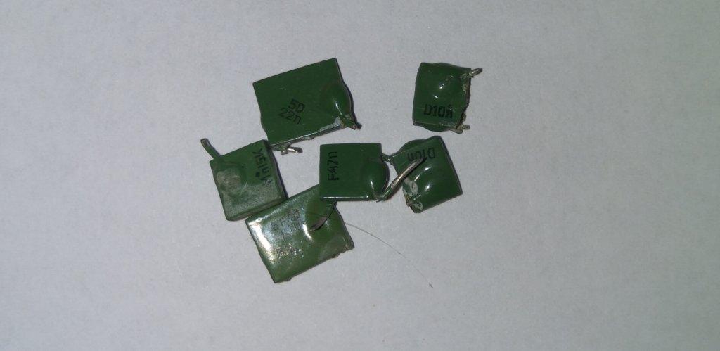 Зеленые конденсаторы КМ
