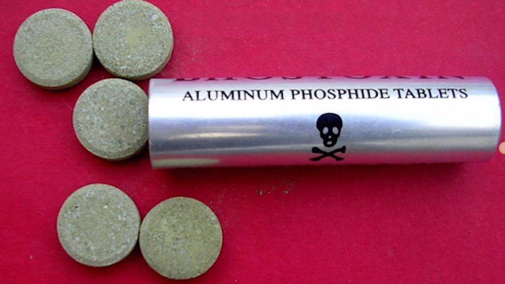 фосфид алюминия в таблетках
