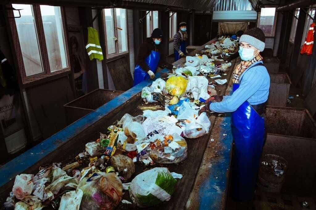 мусоросортировочная станция