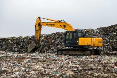 полигон для утилизации отходов