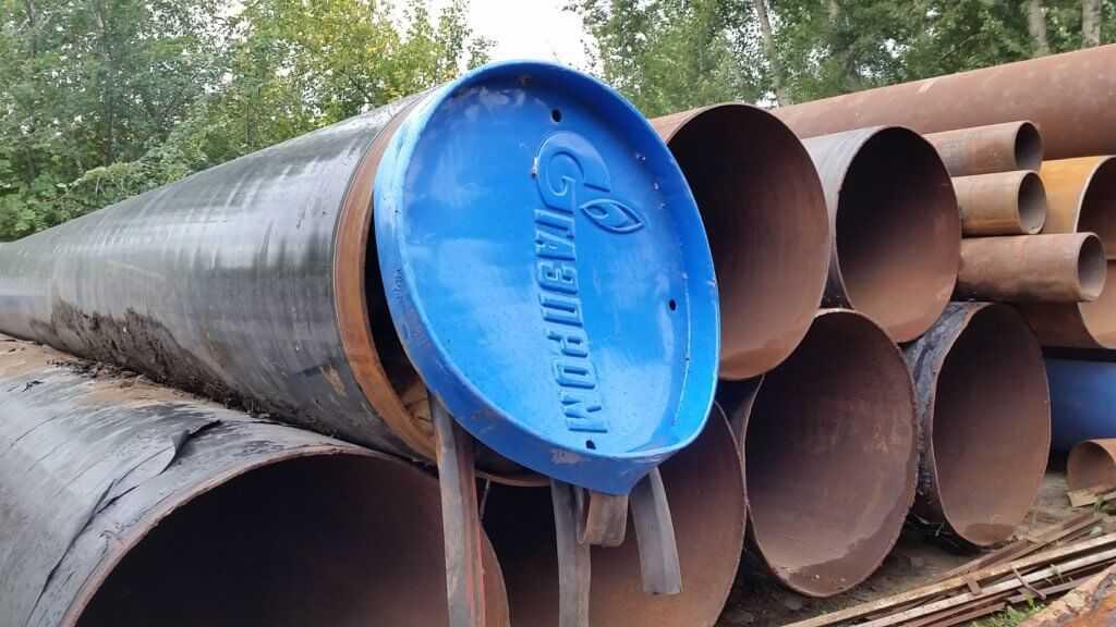 Газпромовская труба б/у