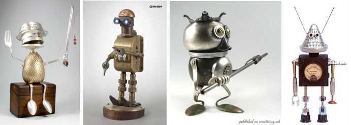 роботы из металлолома своими руками