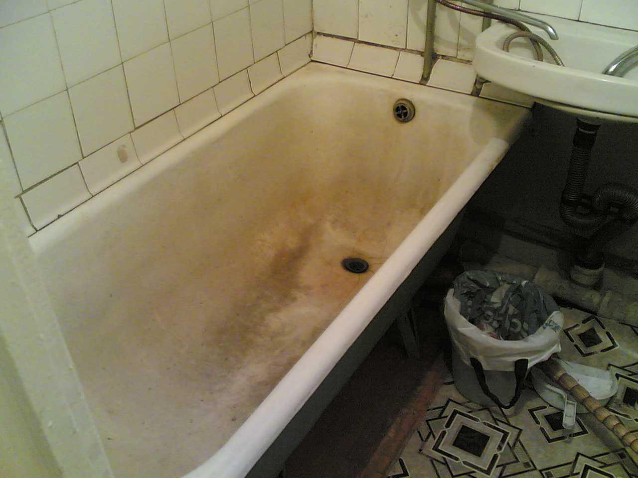 старая чугунная ванна на металлолом