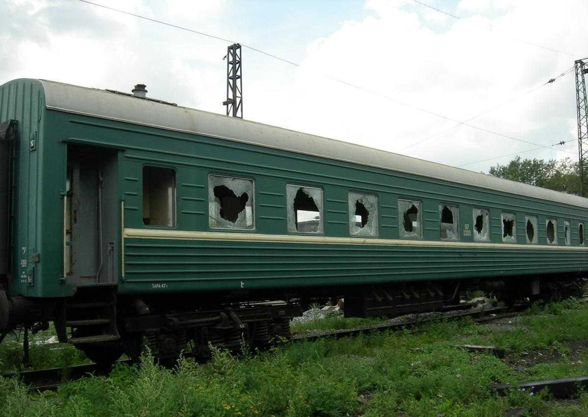 Обычный пассажирский вагон