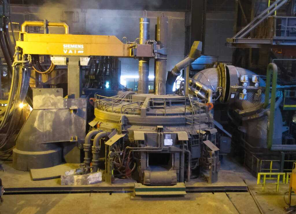 Электродуговая печь Siemens
