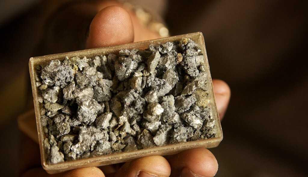 вольфрамовая руда
